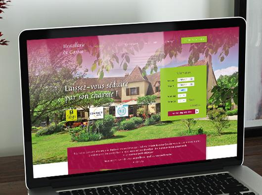 Hostellerie du Causse - site web